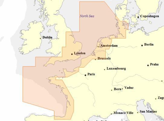 EW-Y227 C-MAP MAX-N+ WIDE für Europa Nord West (Küste)