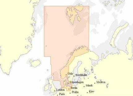 EN-N300 C-MAP MAX-N WIDE für Nordsee, Dänemark