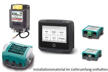 Batteriemonitor mit Tiefentladungsschutz (Abschaltung) mit EasyView 5