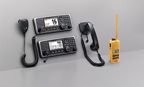 GMDSS-Funkgerät mit Class-A-DSC