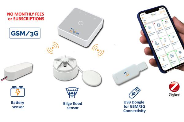 ZigBoat™ Konnektivitätskit, kabellose Alarmanlage
