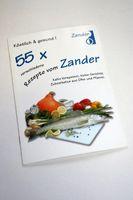 55 verschiedene Rezepte Zander (Rezeptbuch)