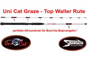 UNI CAT Graze (Waller-Rute / 140-380g)