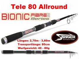 Sänger Bionic Fibre II Tele 80 Allround (Teleskoprute)