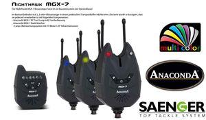 ANACONDA Nighthawk MGX-7 Bißanzeigerset (Multicolor)