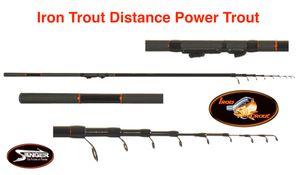 IRON TROUT Distance Power Trout (Forellen-Teleskoprute 15-45g)