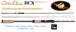 IRON TROUT Chakka HCX (Forellenrute 1-6g)