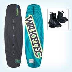 WAKETEC Wakeboard WildRide 138 with Moto blk Binding