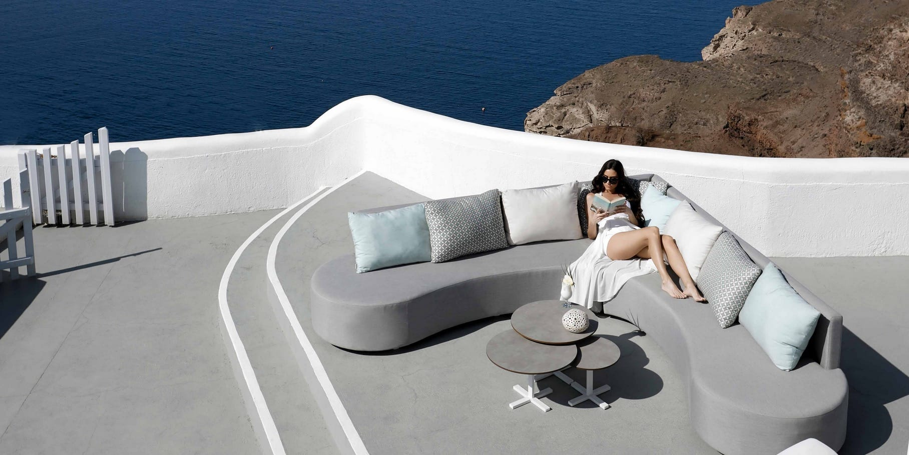 DIVANO Garten Lounge wetterfest