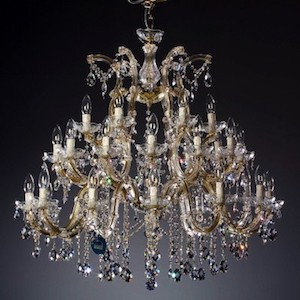 Kronleuchter Bleikristall