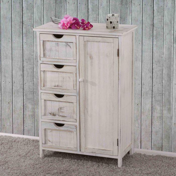kommode shabby look vintage weiss shabby vintage m bel. Black Bedroom Furniture Sets. Home Design Ideas