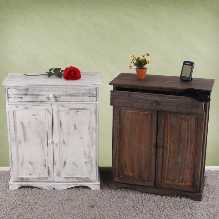 kommode shabby look vintage weiss angebote. Black Bedroom Furniture Sets. Home Design Ideas