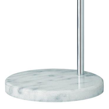 Reality|Trio Bogenlampe Stehlampe Höhe: 150 - 210cm Schirm: 30cm – weiss – Bild 3
