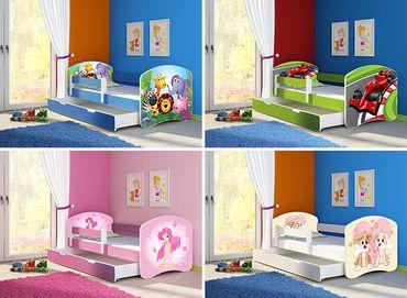 Kinderbett Jugendbett, viele Motive – Bild 1