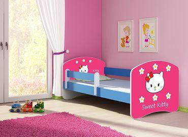 Kinderbett Jugendbett 70x140cm, viele Motive – Bild 16