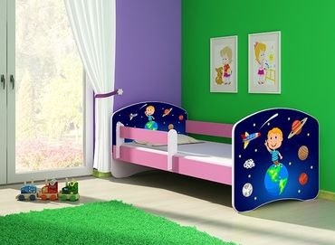 Kinderbett Jugendbett 70x140cm, viele Motive – Bild 22