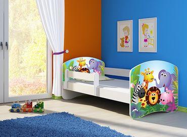 Kinderbett Jugendbett 70x140cm, viele Motive – Bild 2