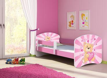Kinderbett Jugendbett 70x140cm, viele Motive – Bild 11