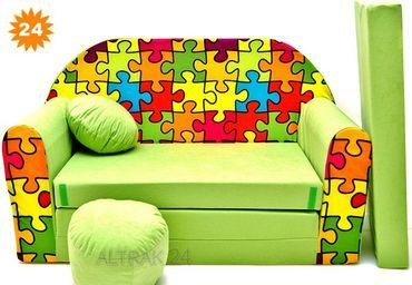 Kindersofa Spielsofa 3in1, viele Motive – Bild 25