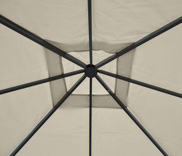 Pergola Gartenpavillon, stabiles 10cm Luxus-Alu-Gestell – Bild 7