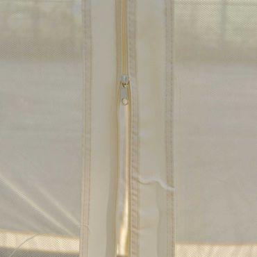Pergola, Garten Pavillon, stabiles 7cm-Gestell mit Seitenwand + Moskitonetz - 10248 – Bild 4
