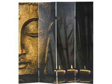 Foto-Paravent Buddha, Paravent Trennwand 180x160 cm – Bild 3