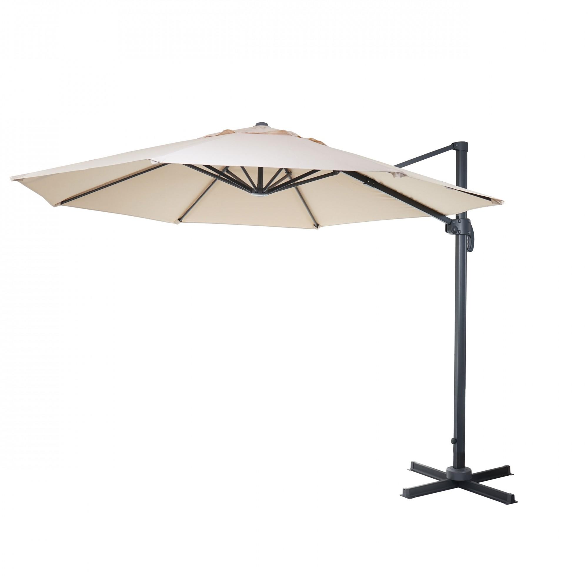gastronomie luxus ampelschirm sonnenschirm 4m garten. Black Bedroom Furniture Sets. Home Design Ideas