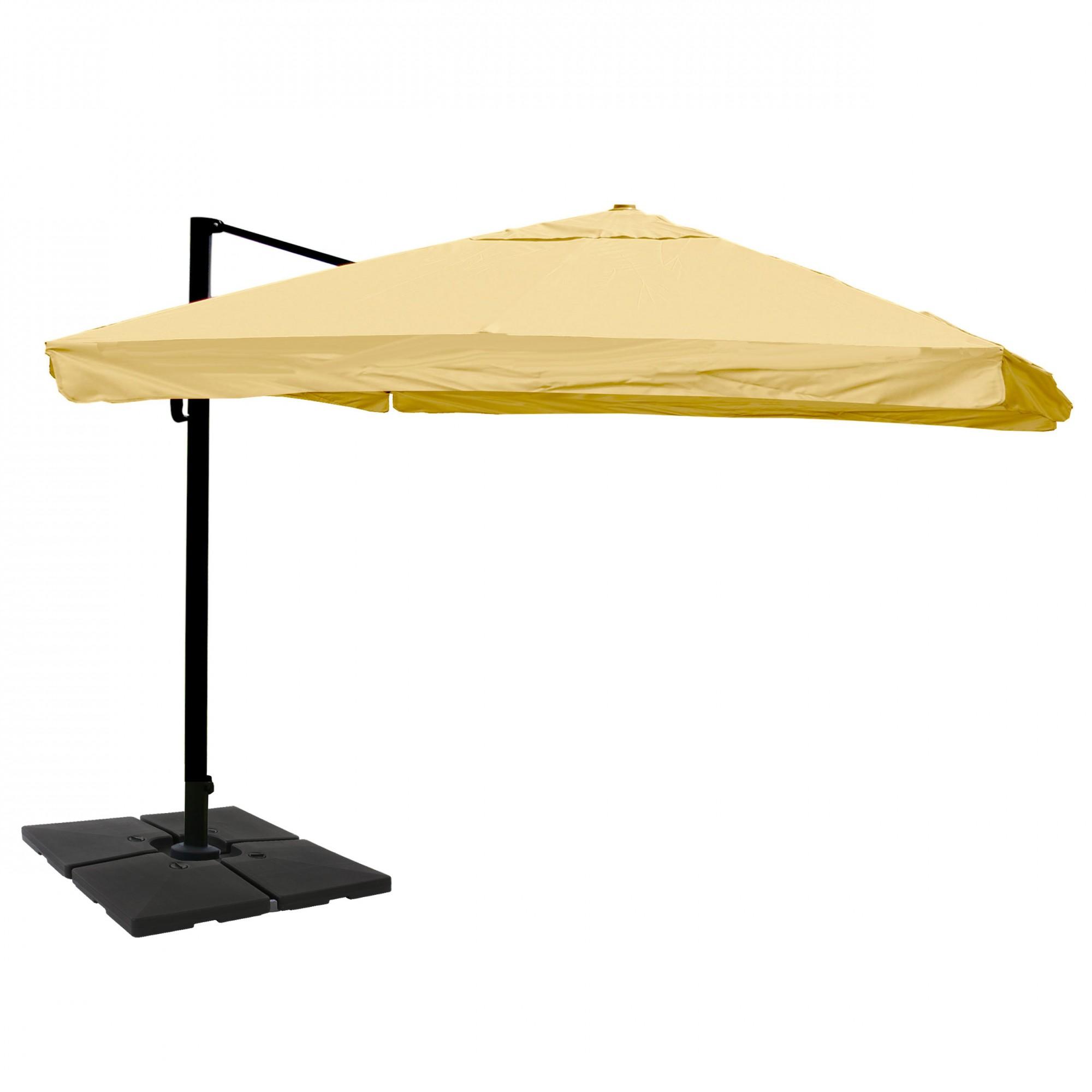 alu gastronomie luxus ampelschirm 3x4m garten sonnenschirme und st nder ampelschirme. Black Bedroom Furniture Sets. Home Design Ideas