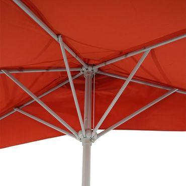 Alu-Sonnenschirm halbrund, Halbschirm Balkonschirm, UV 50+ – Bild 7