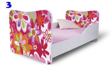 Kinderbett Jugendbett Butterfly 70x140cm, viele Motive – Bild 3