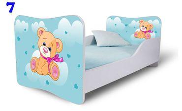 Kinderbett Jugendbett Butterfly 70x140cm, viele Motive – Bild 5