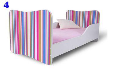 Kinderbett Jugendbett Butterfly 80x160cm, viele Motive – Bild 4