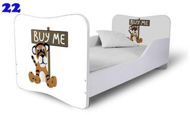 Kinderbett Jugendbett Butterfly 80x160cm mit Bettkasten, viele Motive – Bild 16