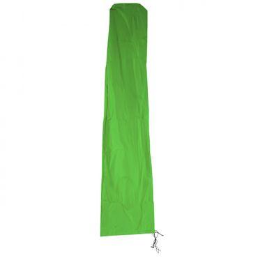 Schutzhülle N22 für Ampelschirm bis 3,5 m, Abdeckhülle Cover mit Reissverschluss - grün – Bild 1