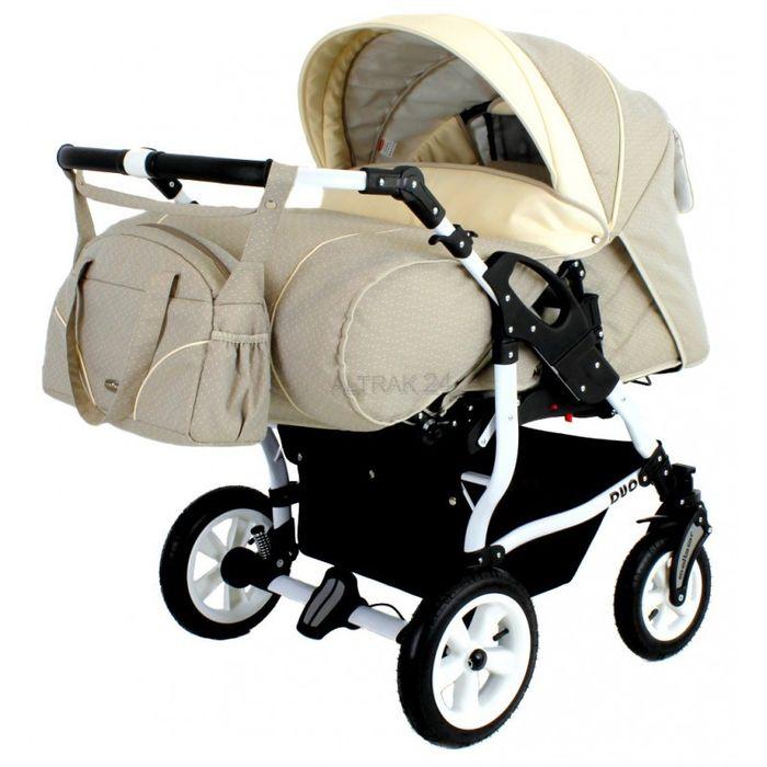 zwillingskinderwagen duo star 3in1 inkl autositz baby. Black Bedroom Furniture Sets. Home Design Ideas