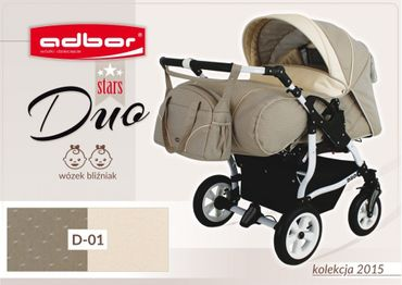 Zwillingskinderwagen Adbor Duo Star – Bild 2