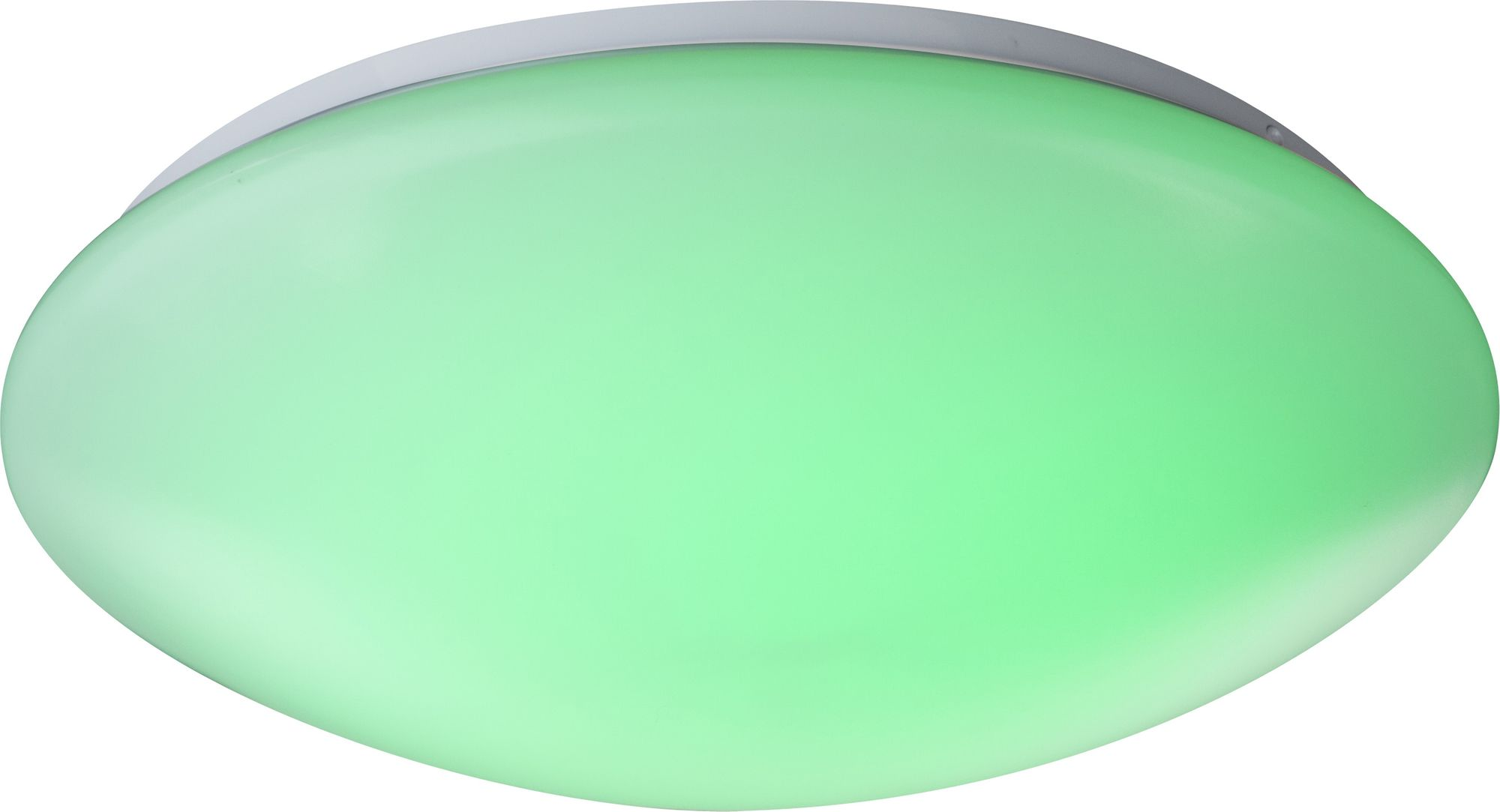 deckenlampe weiss acryl opal led dimmbar fernbedienung farbwechsler farben fixierbar. Black Bedroom Furniture Sets. Home Design Ideas