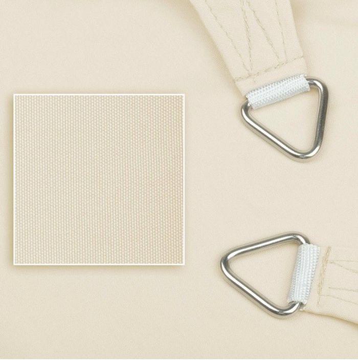 sonnensegel wasserdicht dreieck 4x4x4m 3 farben garten sonnensegel dreieckig. Black Bedroom Furniture Sets. Home Design Ideas