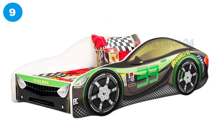 Kinderbett Jugendbett Auto 80x180cm