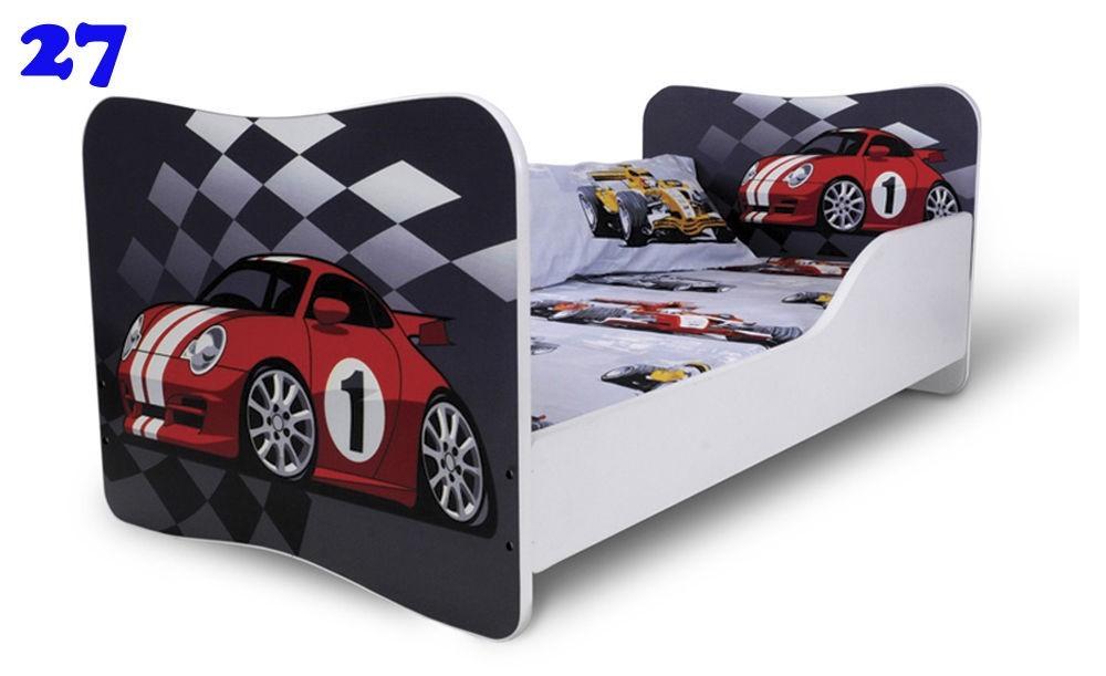 kinderbett jugendbett butterfly 80x160cm mit bettkasten. Black Bedroom Furniture Sets. Home Design Ideas