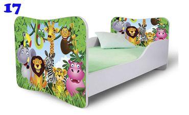 Kinderbett Jugendbett Butterfly 80x180cm, viele Motive – Bild 13