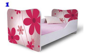 Kinderbett Jugendbett Butterfly 80x180cm, viele Motive – Bild 2