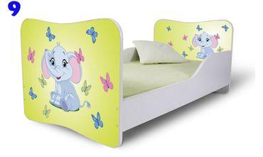 Kinderbett Jugendbett Butterfly 80x180cm, viele Motive – Bild 6