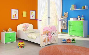 Kinderbett Jugendbett 70x140cm, viele Motive – Bild 13