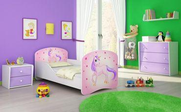 Kinderbett Jugendbett 70x140cm, viele Motive – Bild 17