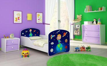 Kinderbett Jugendbett 70x140cm, viele Motive – Bild 23