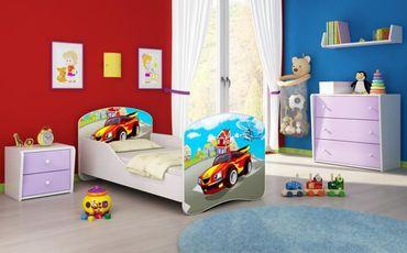 Kinderbett Jugendbett 70x140cm, viele Motive – Bild 3
