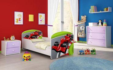 Kinderbett Jugendbett 70x140cm, viele Motive – Bild 6