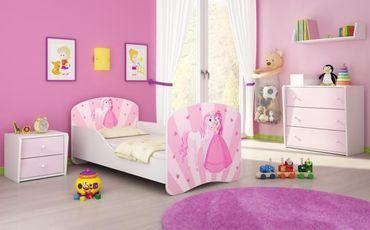 Kinderbett Jugendbett 70x140cm, viele Motive – Bild 8