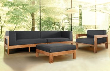 Divano Lounge Lavi Teak Collection – Bild 3